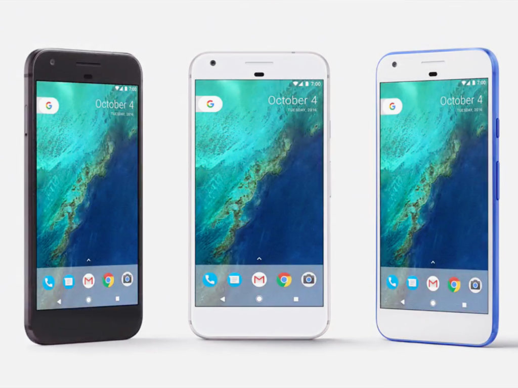 گوشی های پیکسل شرکت گوگل