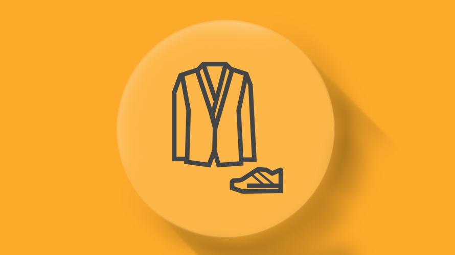 لباس، کیف و کفش